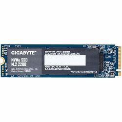 GIGABYTE SSD 512GB, M.2 2280, NVMe 1.3 PCI-Express 3.0 x4, 3D NAND TLC, 1700MBs/1550MBs, 5Yr., Retail