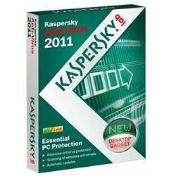 Antivirus KASPERSKY Anti-Virus 2011 Int Ed 1 User retail pack