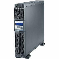 UPS Legrand DAKER DK + Tower/Rack, 3000VA/2700W, On Line Double Conversion, Sinusoidal, PFC, USB & RS232 port, 6 x IEC C13 & 1 x IEC C19, batteries 6x 12V, 9Ah, 30 kg, (Optional Kit Rack 310952, SNMP
