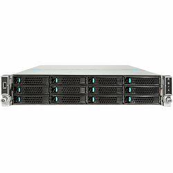 Server INTEL (Rack-Mountable, Intel C6122 x , Intel Xeon Processor E5-2660v4-2GHz (Socket 2011-3), Bus 9.6GT/sec, 256GB DDR4 SDRAM, 14x200GB800GB Solid State DriveSolid State Drive, RAID Controller Ca