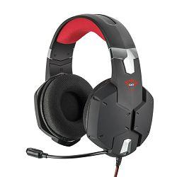 Slušalice + mikrofon GXT322 Carus, gaming, žičane, 3.5 mm, crne