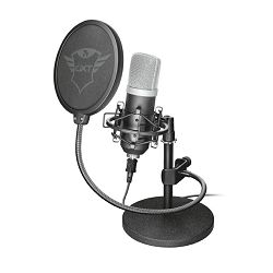 Mikrofon TRUST GXT252 Emita, profesionalni studijski, USB, crni