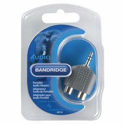 Adapter BANDRIDGE BAP 432 3.5MM ST/ 2X ČINČ Ž