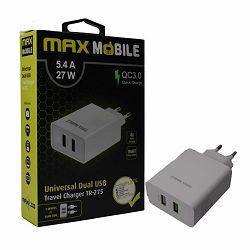 Adapter kućni QC MAXMOBILE 3.0, QUICK CHARGE,TR-275