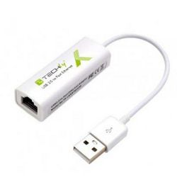 Adapter TECHLY USB 2.0 TO FAST ETHERNET 10/100