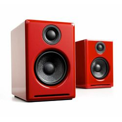 Aktivni zvučnici AUDIOENGINE A2+ Hi-Gloss Red (par)
