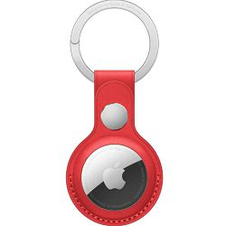 APPLE AirTag Leather Key Ring - (PRODUCT)RED, mk103zm/a