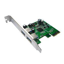 Kartica USB ASONIC PCIE USB 3.0, 2 PORTA NEX720200