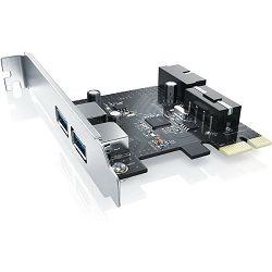 Asonic PCI-e USB 3.0, 2 port + 1 interni USB 3.0