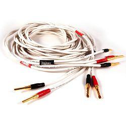 Audio kabel BLACK RHODIUM TWIRL terminirani 2X3M