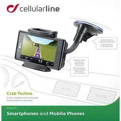 Auto držač za mobitel CELLULARLINE Crab Techno