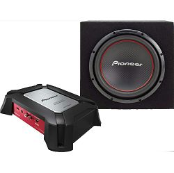 Auto pojačalo PIONEER GXT-3604B SET + subwoofer