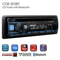 Autoradio ALPINE CDE-203BT (CD, Bluetooth, USB, AUX, iPod/iPhone)