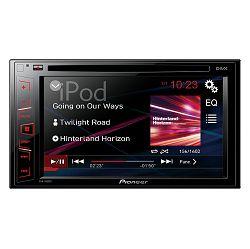 Autoradio PIONEER AVH-180DVD  (USB, CD, DVD, MP3, Aux-In, iPhone/iPod)