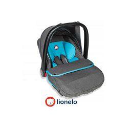 Autosjedalica i nosiljka LIONELO NOA PLUS sivo/plava