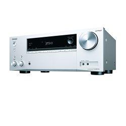 AV receiver ONKYO TX-NR575E srebrni (Wi-Fi, Chromecast, Bluetooth)