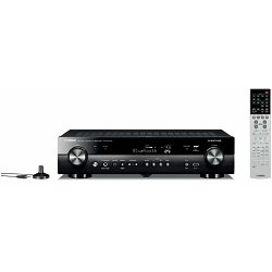 AV receiver YAMAHA AVENTAGE RX-AS710D crni