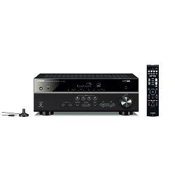 AV receiver YAMAHA RX-V385 crni
