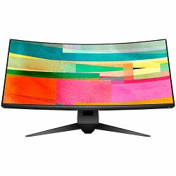 Monitor DELL AW3418DW 34in Curved, 3440x1440, WQHD, IPS Antiglare, 21:9, 1000:1, 300 cd/m2, NVIDIA G-SYNC, 4ms, 178/178, DP, HDMI, 5x USB 3.0, Audio line-out, Tilt, Swivel, Height Adjust, 3Y