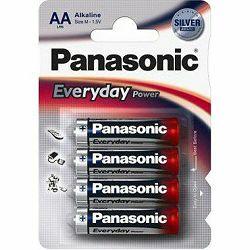Baterija AA PANASONIC ALKALINE EVERYDAY POWER LR6EPS/4BP 4 K