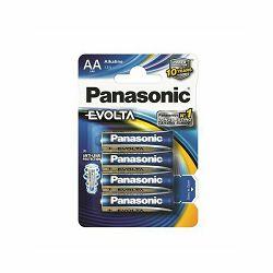Baterija AA PANASONIC ALKALINE EVOLTA LR6EGE/4BP