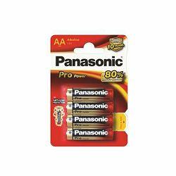 Baterija AA PANASONIC ALKALINE PRO POWER LR6PPG/4BP