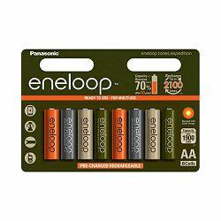 Baterija punjiva AA PANASONIC ENELOOP NI-MH 1900 mAh EXPEDITION 8 kom