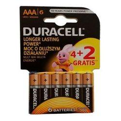 Baterija AAA DURACELL BASIC K4 DURALOCK 4 kom + 2kom