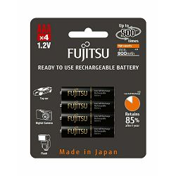 Baterija AAA FUJITSU HR-4UTHCEX-4B 900mAh crne
