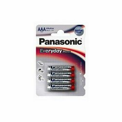 Baterija AAA PANASONIC ALKALINE EVERYDAY POWER LR03EPS/4BP 4