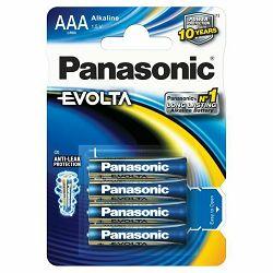 Baterija AAA PANASONIC ALKALINE EVOLTA LR03EGE/4BP