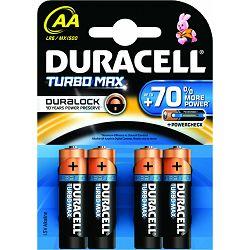 Baterija DURACEL DURAL TURBOMAX AA K4