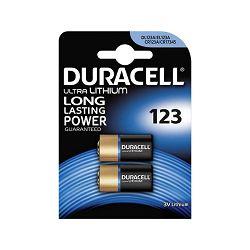 Baterija DURACELL 123 ULTRA M3 B2