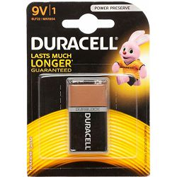 Baterija DURACELL BASIC 9V