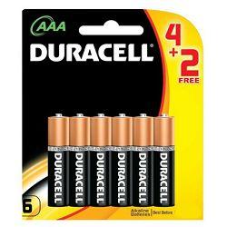 Baterija DURACELL BASIC AAA 4 + 2 gratis