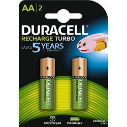 Baterija DURACELL PRECHARGED AA K2 2400 mAh