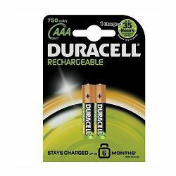 Baterija DURACELL PRECHARGED AAA K2 750 mAh