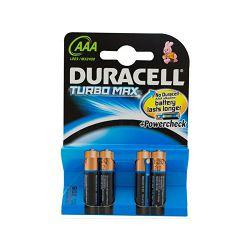 Baterija DURACELL TURBO MAX AAA K4