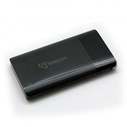 Prijenosna baterija POWERBANK SBOX PB-3000 3000mAh crna