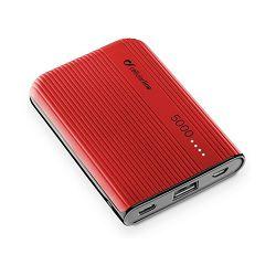 Baterija prijenosna CELLULARLINE 5000 mAh crvena