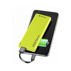 Baterija prijenosna CELLULARLINE Free power 5000 mAh slim