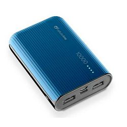 Baterija prijenosna POWERBANK CELLULARLINE 10 000 mAh plava
