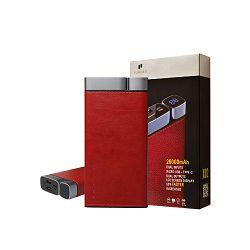 Baterija prijenosna PURIDEA X02 26 000 mAh crvena