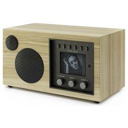 Kompaktni audio sustav COMO AUDIO Solo hickory (Wi-Fi, Bluetooth, multiroom)