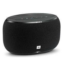 Bežični Hi-Fi zvučnik JBL Link 300 crni (Wi-Fi, Bluetooth, glasovna aktivacija)