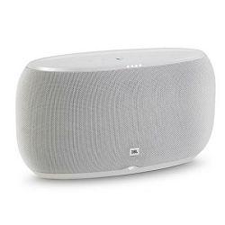 Bežični Hi-Fi zvučnik JBL Link 500 bijeli (Wi-Fi, Bluetooth, glasovna aktivacija)