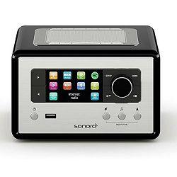 Bežični Hi-Fi zvučnik SONORO RELAX crni (Wi-Fi, Bluetooth, Spotify, FM i DAB+ , USB, AUX)