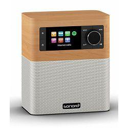 Bežični Hi-Fi zvučnik SONORO STREAM maple decor/white (Wi-Fi, internet radio, Spotify, Multiroom, Bluetooth)