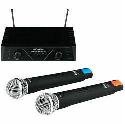 Bežični set SAL TXS-812 SET (2x bežični mikrofon i pojačalo)