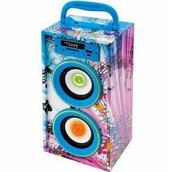 Prijenosni zvučnik SAL BT 2800/BL (Bluetooth, FM radio, USB)